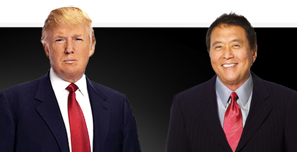 3 Lessons For Authors From Donald Trump and That Rich Dad Guy