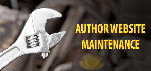Keeping Your Author Website Maintained and Oiled