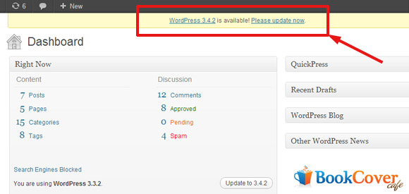wordpress automatic update