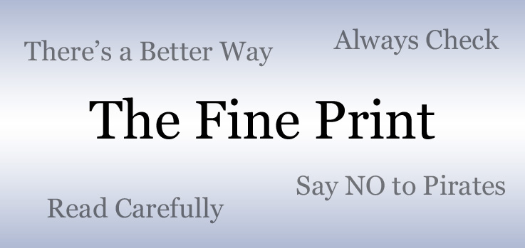 The Fine Print: Sue's Close Call