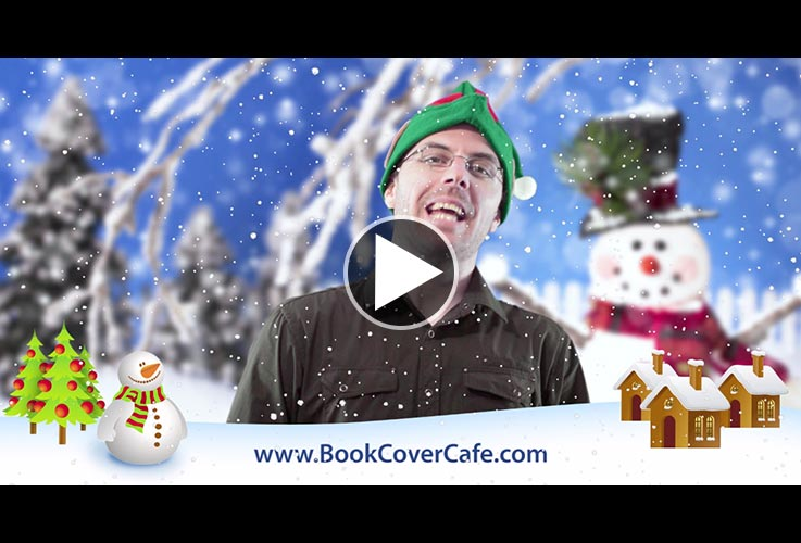 A Message From Book Cover Cafe in a Secret Snowy Location