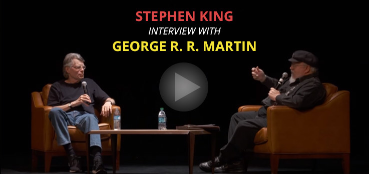 Stephen King Interview With George R. R. Martin (Video)